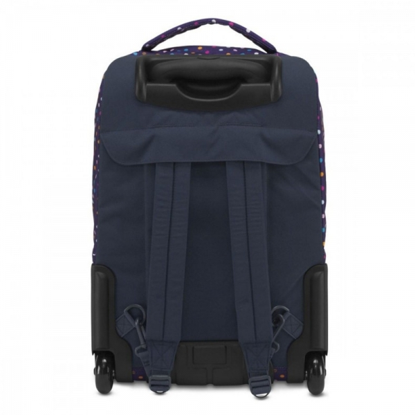 Jansport Wheelled Superbreak Desenli - Mor Point Çekçek Çantası