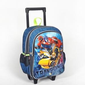 Transformers - Transformers İki Bölmeli Gri Çekçekli Okul Çantası (1)