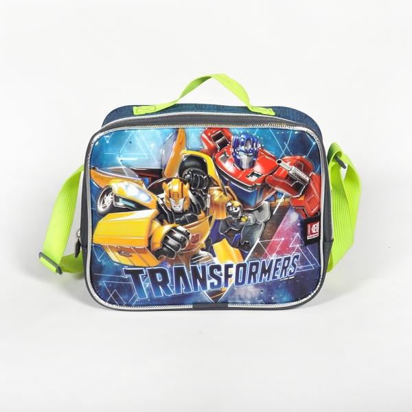 Transformers Tek Bölmeli Gri Beslenme Çantası