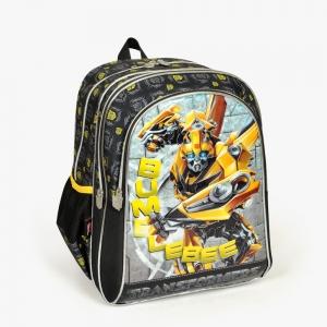 Transformers - Transformers Üç Bölmeli Siyah Okul Çantası (1)