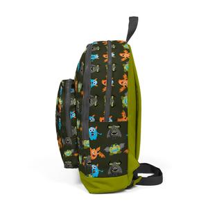 Coral High KIDS - Coral High Kids Yeşil Desenli Sırt Çantası (1)