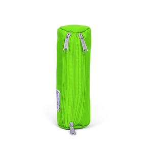 Coral High - Coral High Üç Bölmeli Fosforlu Yeşil Kalem Çantası (1)