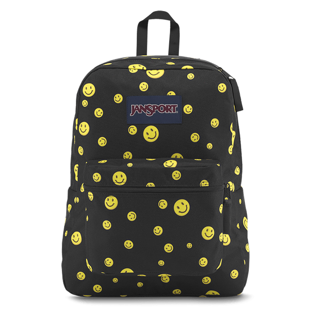Jansport - Jansport Exposed Desenli - Emoji Sırt Çantası