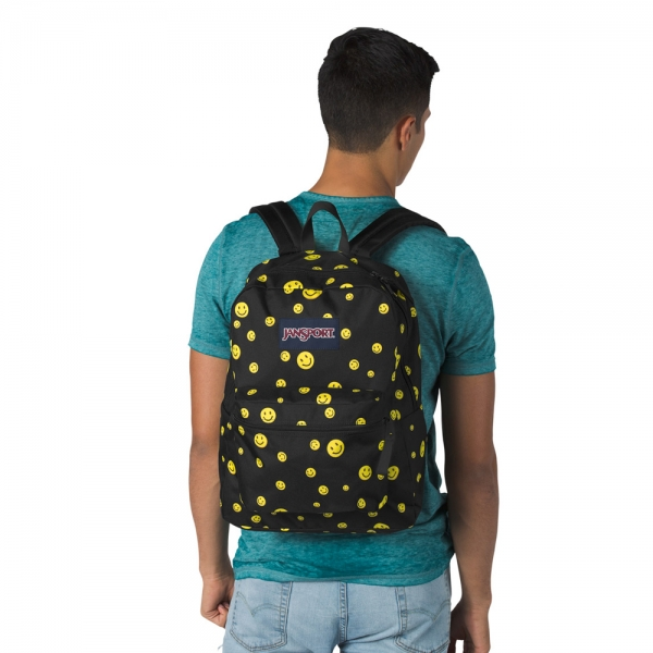 Jansport Exposed Desenli - Emoji Sırt Çantası