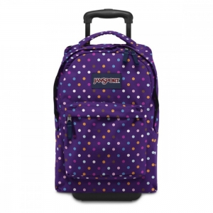 Jansport - Jansport Wheelled Superbreak Desenli - Mor Point Çekçek Çantası