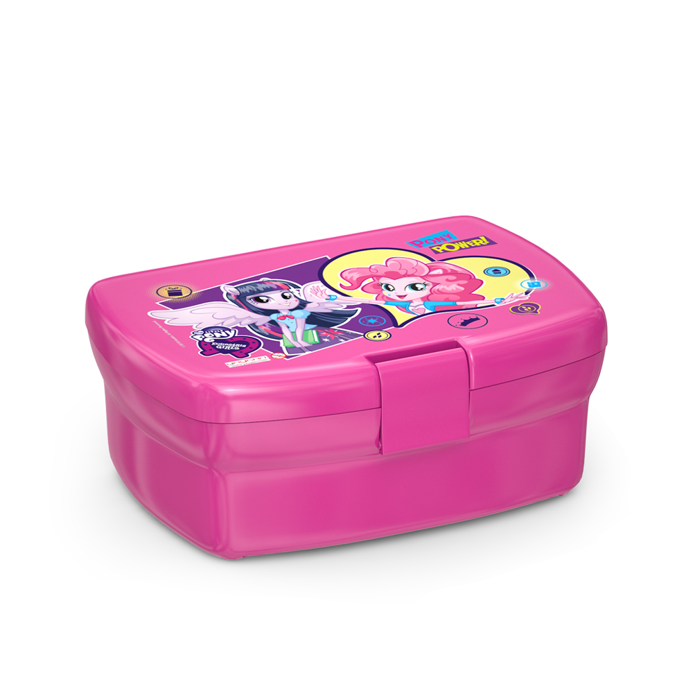 My Little Pony - Mlp Equestria Girls Pembe Beslenme Kabı
