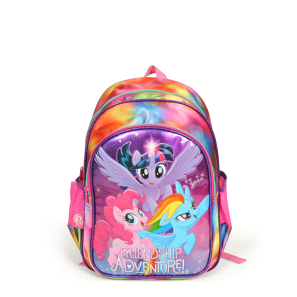 My Little Pony - My Little Pony İki Bölmeli Mor Okul Çantası