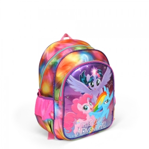 My Little Pony - My Little Pony İki Bölmeli Mor Okul Çantası (1)