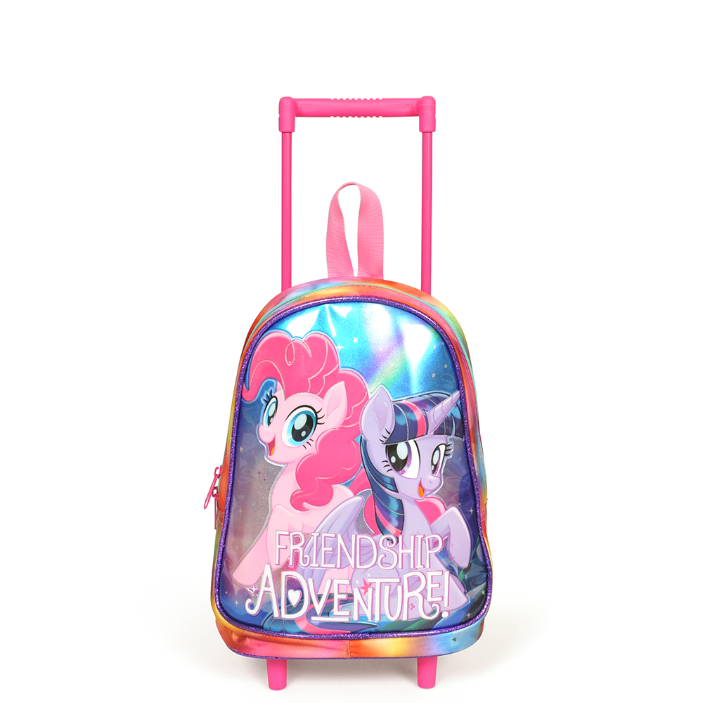 My Little Pony - My Little Pony Tek Bölmeli Mor Çekçekli Anaokul Çantası