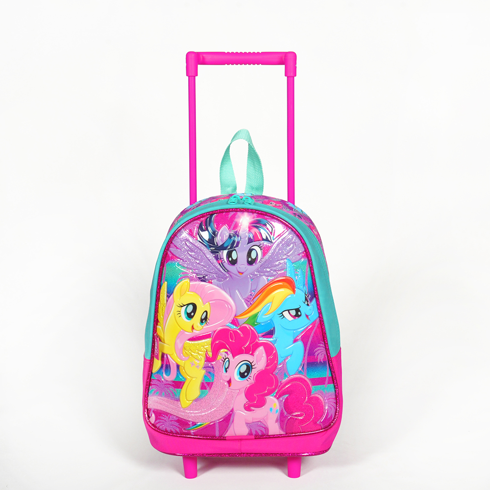 My Little Pony - My Little Pony Tek Bölmeli Pembe Çekçekli Anaokul Çantası
