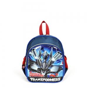 Transformers - Transformers İki Bölmeli Lacivert Anaokul Çantası