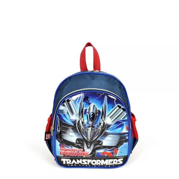 Transformers İki Bölmeli Lacivert Anaokul Çantası
