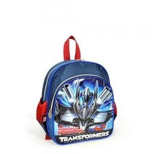 Transformers - Transformers İki Bölmeli Lacivert Anaokul Çantası (1)