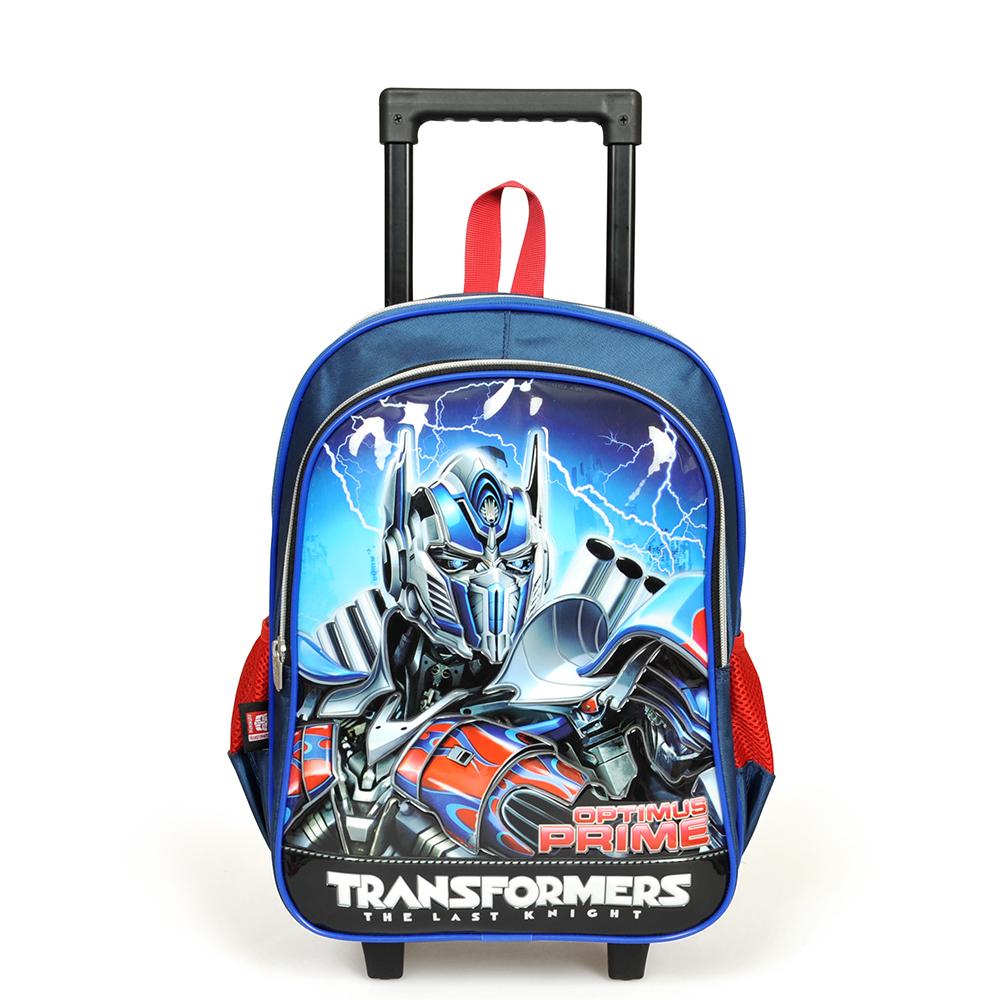Transformers - Transformers İki Bölmeli Lacivert Çekçekli Okul Çantası