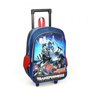 Transformers - Transformers İki Bölmeli Lacivert Çekçekli Okul Çantası (1)
