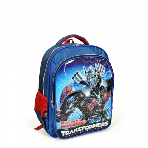 Transformers - Transformers İki Bölmeli Lacivert Okul Çantası (1)