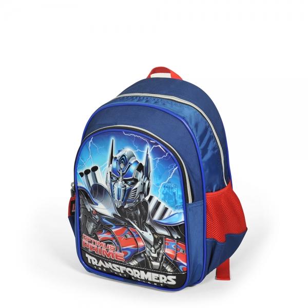 Transformers İki Bölmeli Lacivert Okul Çantası
