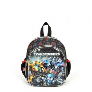 Transformers - Transformers İki Bölmeli Siyah Anaokul Çantası