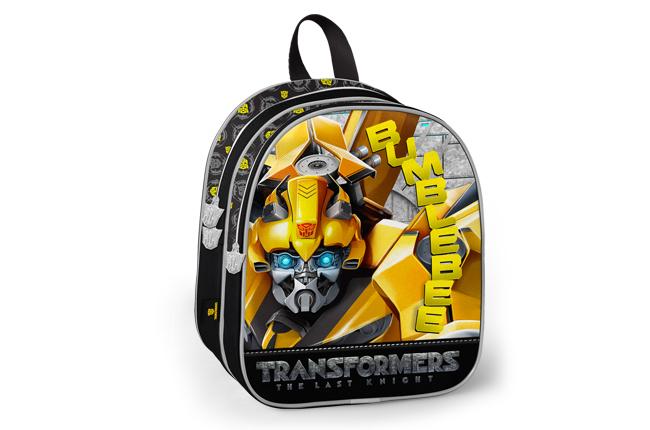 Transformers - Transformers İki Bölmeli Siyah Okul Çantası