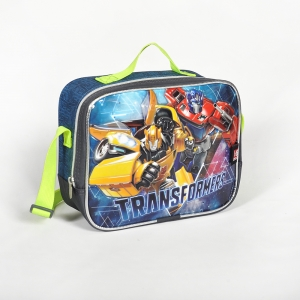 Transformers - Transformers Tek Bölmeli Gri Beslenme Çantası (1)