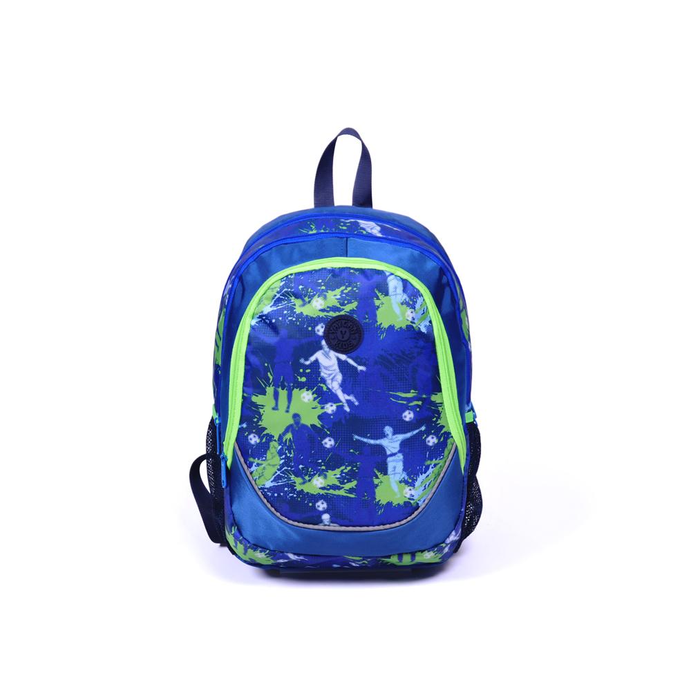 Yaygan Kids - Yaygan Kids Dört Bölmeli Lacivert-Desenli Okul Çantası