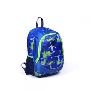 Yaygan Kids - Yaygan Kids Dört Bölmeli Lacivert-Desenli Okul Çantası (1)