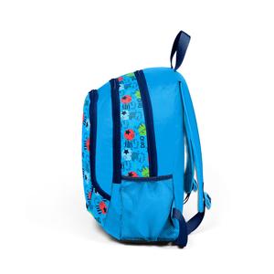 Yaygan Kids - Yaygan Kids Mavi - Desenli Okul Çantası (1)