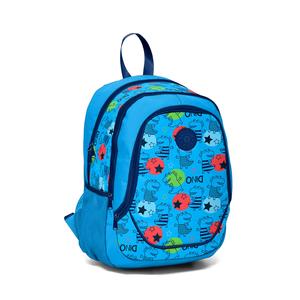 Yaygan Kids - Yaygan Kids Mavi - Desenli Okul Çantası